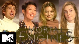 Mortal Engines Cast Go Speed Dating | MTV Movies