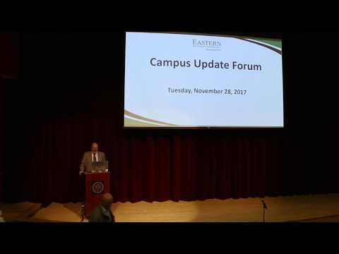EMU Campus Forum Review November 2017