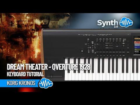 Dream Theater Overture 1928 keyboard tutorial on Kronos ( Performer Vetkeyboardist )