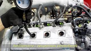 Авторазбор. Контрактный двигатель 4A-FE. Запуск TOYOTA CORONA PREMIO (ТОЙОТА КОРОНА ПРЕМИО)