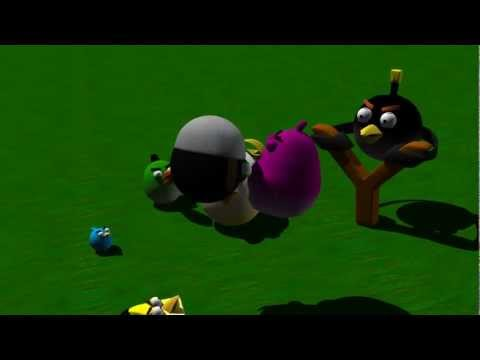 Angry Birds - Ninja Swine - 3D Animation