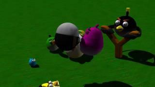 Angry Birds - Ninja Swine - 3D Animation
