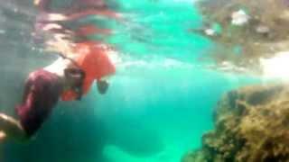 Cave Swimming and Snorkling @ Porto Colom Mallorca (GOPRO)