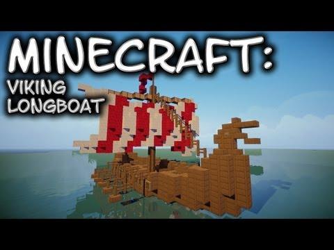 Minecraft: Viking Longboat Tutorial
