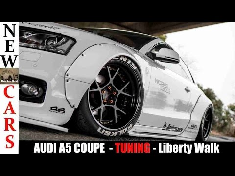 audi a5 coupe tuning liberty walk a5 youtube. Black Bedroom Furniture Sets. Home Design Ideas
