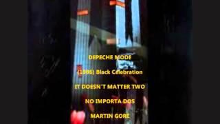 DEPECHE MODE BLACK CELEBRATION  (1986) SUBTITULADO  INGLES - ESPAÑOL