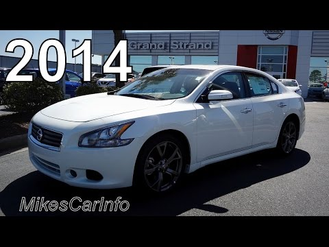 2014 Nissan Maxima 3.5 SV - YouTube