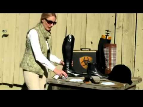 How to Care for your Ariat Boot from SaddleryUSA.com - YouTube
