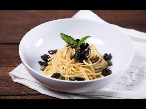 พาสต้าผัดมะกอก Tapenade-Inspired Pasta - วันที่ 05 Mar 2019