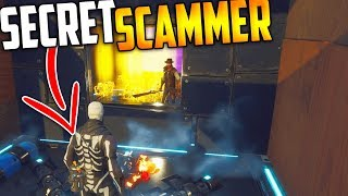 The SECRET SCAMMER - Scammer Gets SCAMMED For HIS BEST GUNS - Fortnite Save The World