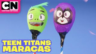 How to Make Teen Titans Maracas | Let's Create | Teen Titans GO! | Cartoon Network