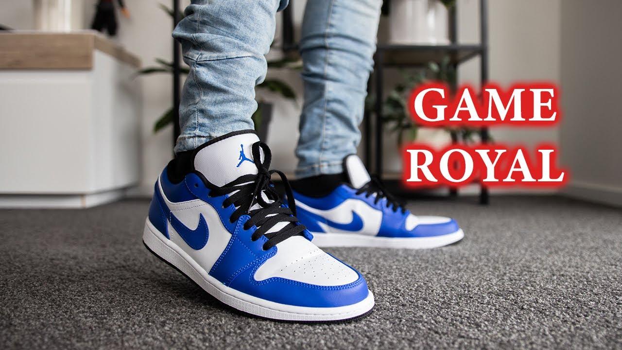 Air Jordan 1 Low 'Game Royal' | Cleanest Lows in 2020?