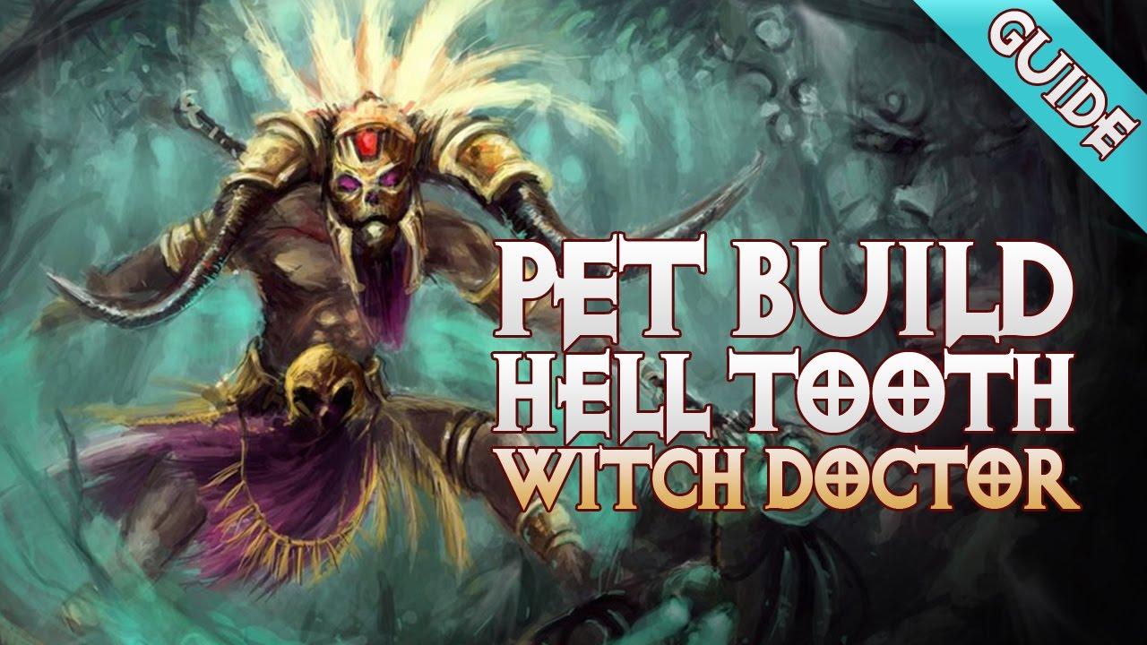 Diablo 3 - Witch Doctor Helltooth Build - PET BUILD (GR90) - PWilhelm