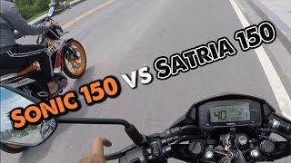 Sonic 150 vs Satria 150 vs Winner 150 - Test speed 2 chiếc Hyper Underbone HOT nhất | MinC Motovlog