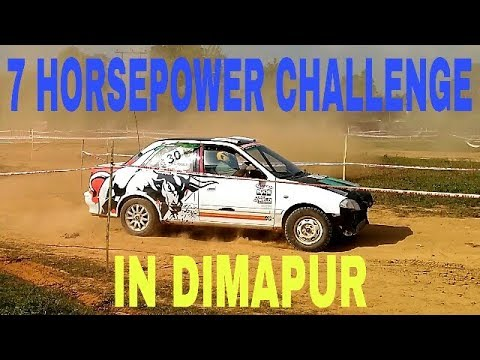 7th Horsepower car rally challenge in Dimapur