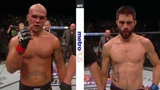 UFC 195: Robbie Lawler and Carlos Condit Octagon Interviews