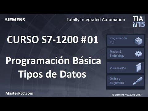 Programación Básica Tipos de Datos  Bit y Byte | 📗Curso S7-1200 # 01