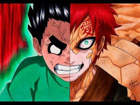AMV Rock Lee vs Gaara [Naruto]{ Lótus-Massaru feat ... Gaara And Rock Lee