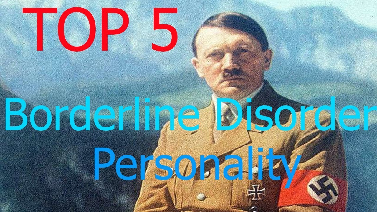 famous people with borderline personality