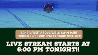 ACHS Swim & Dive Varsity Meet ~ Sweet Briar College