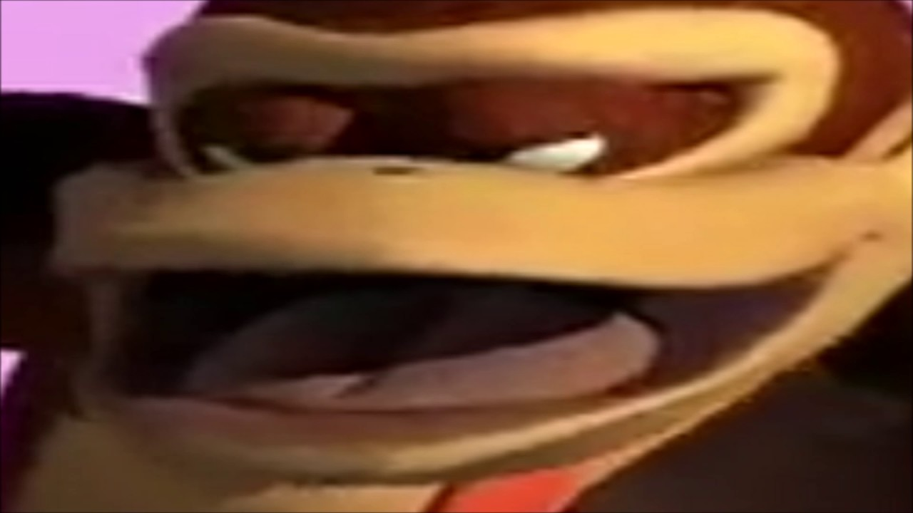 Donkey Kong Our Love Is Stronger Than A Golden Banana Earrape