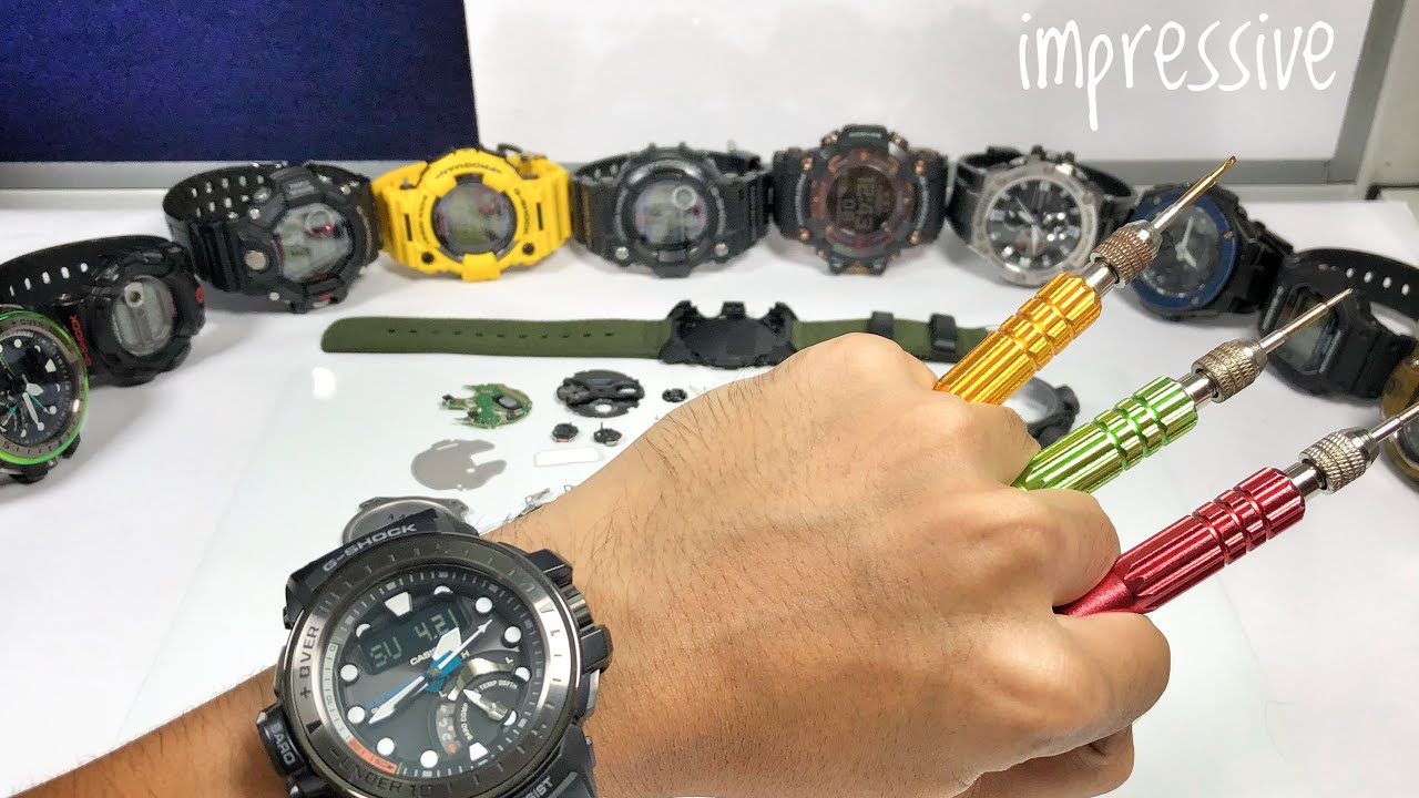 b05030360193 Whats inside the new CARBON GA-2000 G-Shock watch ! - YouTube