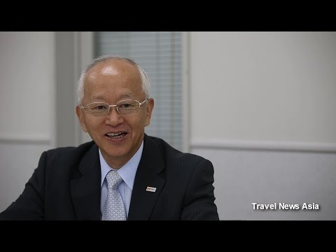 Japan Tourism Update - Interview with JATA's Hiroshi Sawabe - HD