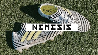 Бутсы для футбола Adidas Nemeziz 17.1 /// Розыгрыш мяча с КК 2017
