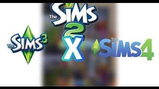 Comparações de The Sims 3 x The Sims 4