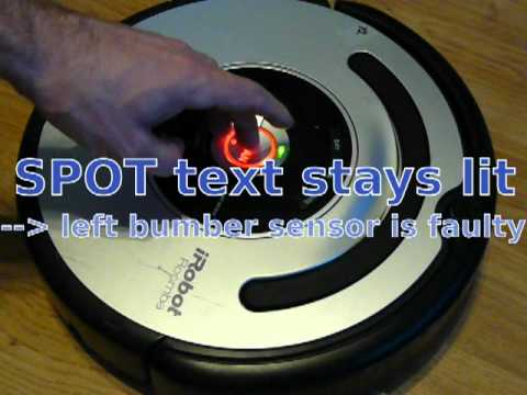 Roomba 560 9 beep error test and fix thumbnail