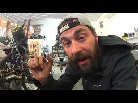 La avería de la moto #48 Alaska en invierno en moto