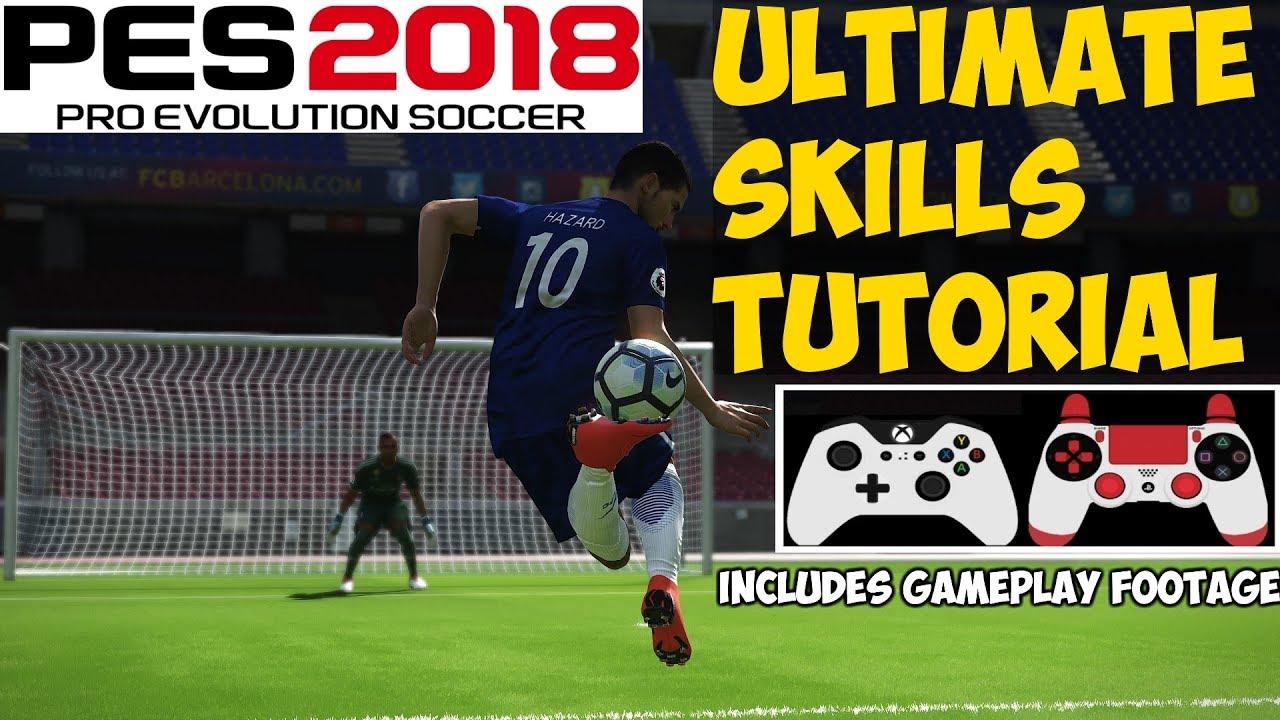 Pes 2018 Skills List