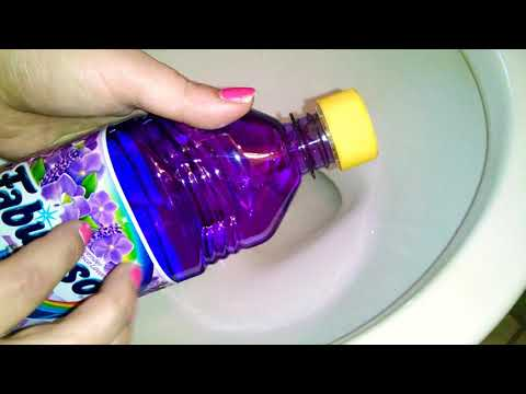 Lavender💜Fabuloso & Lemon💛Comet - FOAM OVERLOAD!! 🌸🍋 | ASMR Toilet Cleaning, Scrubbing, Suds