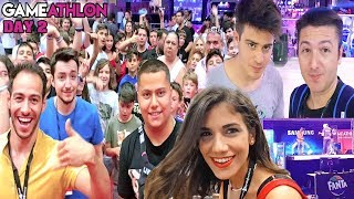 GameAthlon 2018 Day 2 - Meet and Greet (VLOG 4/4) #Internet4u
