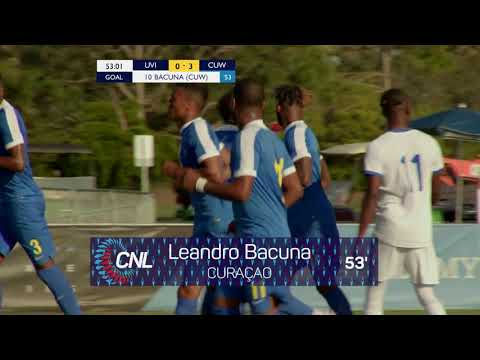 CNL 2018: US Virgin Islands vs Curaçao Highlights