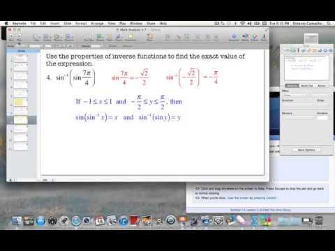 MCHS Math Analysis 4.7