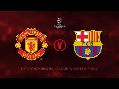 Manchester United Vs Barcelona  Promo 2019 League Champions