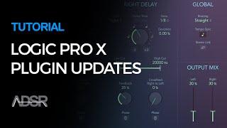 Logic Pro X 10.2.1 - Plugin Updates