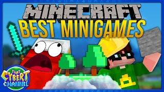 Minecraft Minigames: Bed Wars, Skyblock, Survival \u0026 More   That Cybert Channel