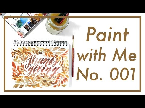 Paint with Me No. 001 | Job's Journal