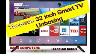 Thomson B9 pro 32 Inch LED Tv Unboxing and Review