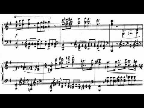 Prokofiev Piano Sonata No. 1 in F minor Op. 1 Score