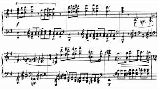 Prokofiev Piano Sonata No. 1 in F minor Op. 1 Score