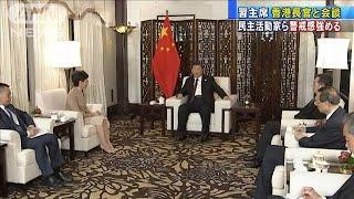 習近平主席と香港の林鄭長官が会談 デモ活動以来初(19/11/05)