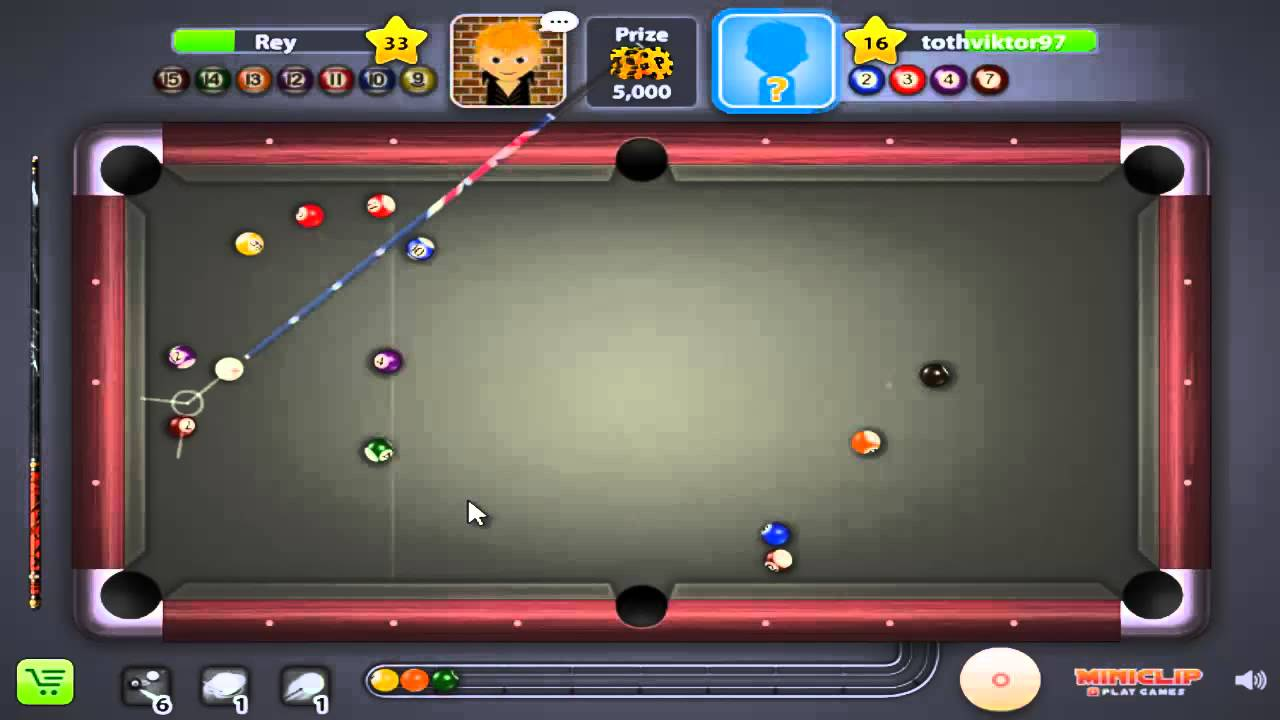 8 ball pool multiplayer-OWNED - YouTube