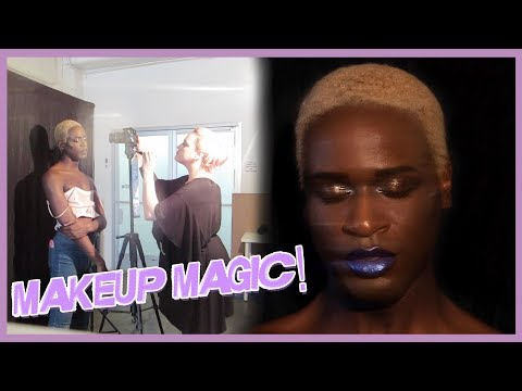 My *FIRST* Makeup Photoshoot~ ft Rituel de Fille  MilesJaiVLOG