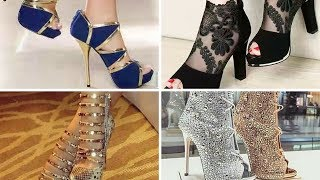 #2018# Beautiful Sandals/Heels Designs - Latest Stylish Fashions #✈Online trendy designs