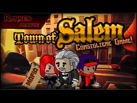 Town of Salem (Consigliere Game!)| IT'S UNDER CON-TROL? (Ran