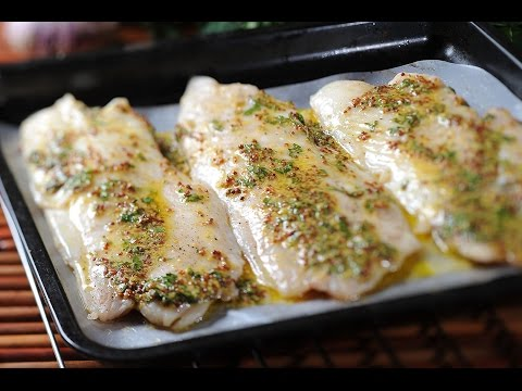 Fish With Mustard Sauce