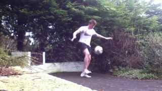 Jamie Knight - Hardcore Football Freestyle - 3 Clips